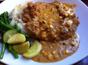 Pecan Crusted Chicken Fried Steak