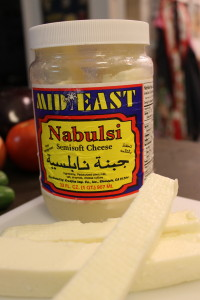 My favorite brand of Nabulsi Cheese. it's not too salty and cooks well.