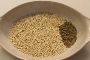 Sesame and Anise Seeds