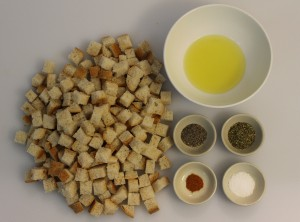 The Crouton Ingredients