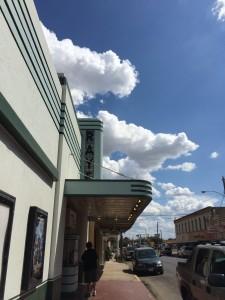 Raye Theater. Blanco, TX