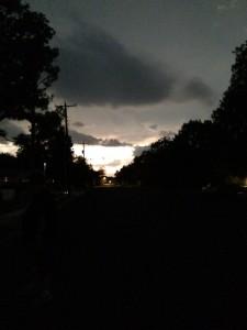 Storm a'comin'