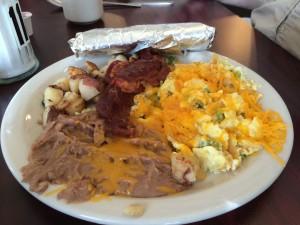 City Cafe Steve's Breakfast: Migas