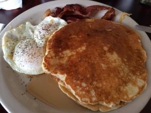City Cafe My breakfast: Pancakes