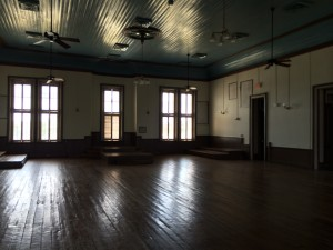 """Old courtroom upstairs where they filmed part of the 2010 version of """"True Grit"""""""