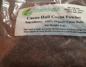 Cocao Hull Cocoa Powder from Organicare Farms.