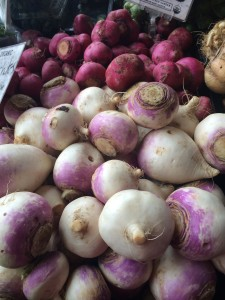 Turnips at JBG.