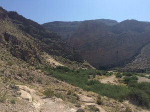 Slightly differernt view of Boquillas Canyon.